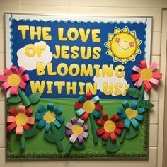 Another cute bulletin board for a Christian school