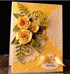 Doily Inspired by jasonw1 - Cards and Paper Crafts at Splitcoaststampers