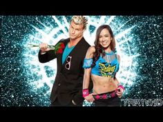 """Dolph Ziggler and AJ Lee 1st WWE Theme Song - """"Here To Show The World"""""""