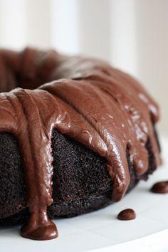 Double Chocolate Guinness Bundt