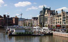 Amsterdam Sehenswürdigkeiten Grachtenfahrt Damrak Amsterdam