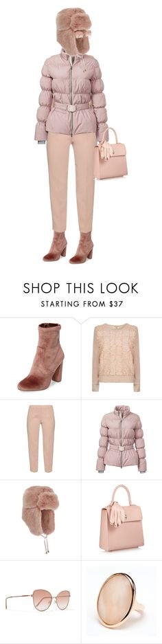 """""""Untitled #5"""" by meetminion ❤ liked on Polyvore featuring Steve Madden, Darling, MaxMara, Elizabeth Roberts, Miss Selfridge, Charlotte Olympia, Cutler and Gross and Rina Limor"""