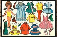 Did u play with it? Craft Patterns, Doll Patterns, Diy And Crafts, Paper Crafts, Paper Dolls Printable, Dress Up Dolls, Vintage Paper Dolls, Shopkins, Clay Projects
