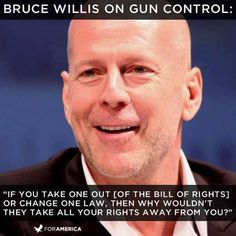 Bruce Willis Quote - appears that some actors actually have the ability to think for themselves! https://sharpshootersusa.com/