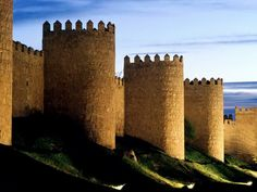 Avila, Spain and its Cathedral are a World Heritage site, and where St. Teresa……