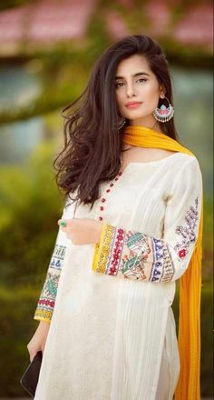 Summer Collection 2020 Brand: Bareeze Lawn Fabric Embroidered Dress Lawn Embroiderd Dress Front Shirt Full Embroidered Sleeves Embroiderd Trouser Emb Bember Chiffon Dupatta Daman Embroidered Patch Price: (Free Home Delivery All Over the Pakistan) Designer Party Wear Dresses, Kurti Designs Party Wear, Indian Designer Outfits, Stylish Dresses For Girls, Stylish Dress Designs, Girls Dresses, Pakistani Fashion Party Wear, Pakistani Outfits, Pakistani Casual Wear