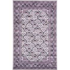 Bloomsbury Market Irma Light Gray Area Rug Rug Size: Runner 2' x 6'