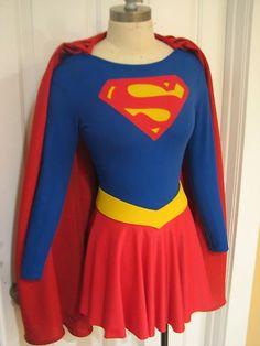 Helen Slater Supergirl Costume Superman Hand Made | eBay