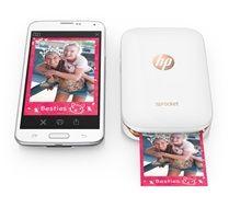 Imprime fotos desde tu smartphone o tablet con la impresora fotográfica Sprocket de HP con la misma facilidad que si las publicaras. Convierte el tiempo que pas...