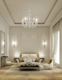 Gorgeous Dark Walls And High Ceilings With Minimal But Traditional Interesting Classic Living Rooms Interior Design Decorating Design