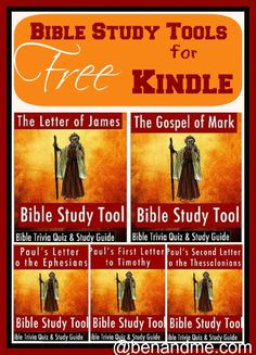 Free for Kindle -- NT Bible Study Tools - Ben and Me