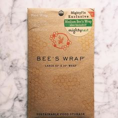 I am so excited to try this! I love you already  @mightynest 🐝💜 67/365 #beeswrap #mightynest #beeswax #organic #eatorganic #livesimply #reducereuserecycle #green #livewell #eat_authentic #foodofinstagram #foodie #instafood #foodlovers #food #foodiegram  #ecoliving #gogreen #vsco #vscocam #vscofood #bees #bee #compostable #greenliving #earthfriendly #natural #naturalliving #recycle #reuse