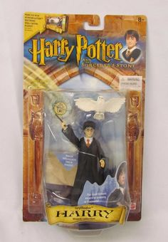Mattel Harry Potter Powercaster Action Figure with Hedwig Owl New Factory Sealed Harry Potter Action Figures, Hedwig Owl, Harry Potter Collection, Magic Tricks, View Photos, Seal, It Cast, Baseball Cards, Toys
