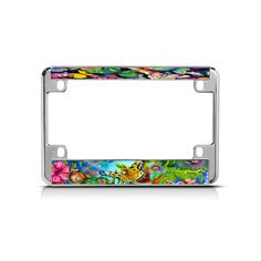 Shop over license plate frames, license plates and motorcycle license plate frames. Motorcycle License, Motorcycle Bike, Custom License Plate Frames, Butterfly Background, Mall, Butterflies, Chrome, Butterfly, Bowties