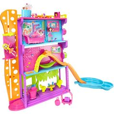 Polly Pocket Hotel #PollyPocket Olivia and I played dolls in her Polly Pocket Hotel 12/25/13