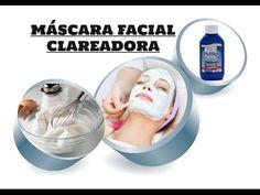MASCARA FACIAL CLAREADORA CASEIRA - YouTube