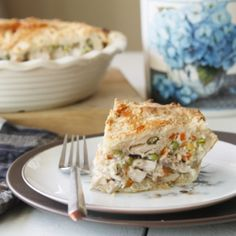 chicken pot pie from dishingthedivine