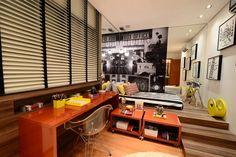 cinema / bedroom / movie / quarto / home decor / bohrer arquitetura / interior design