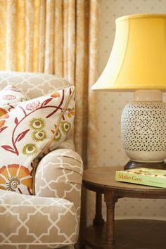 Photo styling idea... Love the color and pattern connection- Elizabeth Dinkel Design Associates, Inc