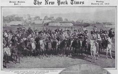Kurds from Urmê in the New York Times Edition from 24. January 1915.