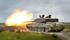 Challenger 2 Tank Live Firing During Exercise | Flickr - Photo Sharing!
