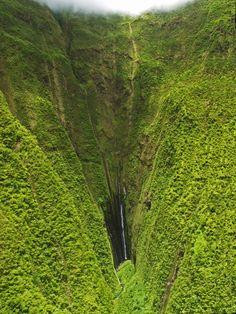 Maui, Hawaii, Keyhole Waterfall