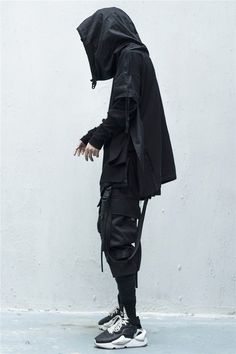 Male Urban Fashion, Mens Fashion, Black Jogger Pants, Hypebeast Wallpaper, Golf Humor, How To Wear, Clothes, Outfits, Style