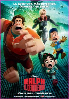 Wreck it Ralph movie poster Disney Movie Posters & Artwork Disney Movie Posters, Disney Animated Movies, Pixar Movies, Funny Movies, Funniest Movies, Disney Animation, Disney Pixar, Animation Movies, Disney Actual