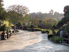 Парк Бонсай 'Энергичный Сад' в Южной Корее | Ландшафтный дизайн садов и парков