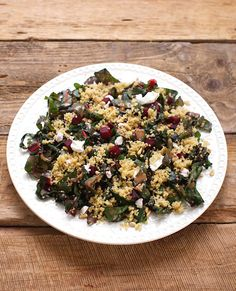 Warm Quinoa with Beets and Swiss Chard