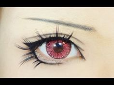 Anime eyes! Really want to try this for myself with my Chii cosplay! :3