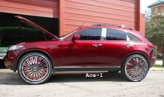 custom infiniti fx35 - Google Search