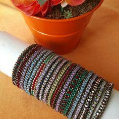 Handmade prety womans collection swarovski bracelets  20$