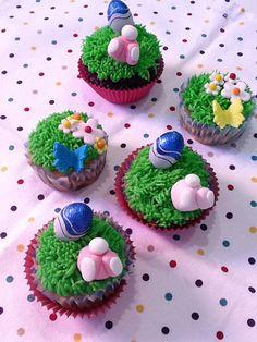 Conejitos de pascua se han colado en los cupcakes
