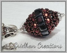 beaded bead - wasp nest, by Eridhan Creations