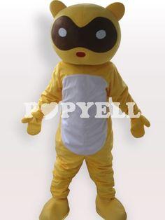 #Mascotte #raton Costume Mascotte Raton Laveur en Peluche Courte Pour Adultes a prix pas cher chez Popyell.com