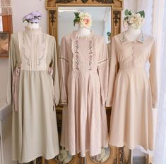 Dress Outfits, Girl Outfits, Cute Outfits, Fashion Outfits, Kawaii Fashion, Cute Fashion, Stunning Wedding Dresses, Daily Dress, Korean Fashion Trends