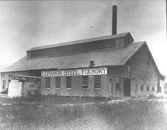 This photo of the Lebanon Steel Foundry was taken sometime prior to World War I. The company was founded 100 years ago.