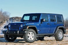 4-Door Jeep Wrangler unlimited Rubicon 4x4 2009..... I WANT ONE SOO BAD!!!! MY NEXT CAR!, like blue too