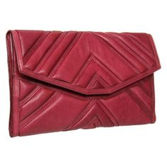 L.A.M.B. Hatchet Clutch Clutch Handbags - Ox Blood <3
