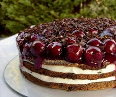 Csiperke blogja: Meggyes-mákos habos torta Fondant, Cake Recipes, Cheesecake, Sweets, Cooking, Healthy, Poppy, Food, Kitchen