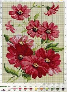 123 Cross Stitch, Beaded Cross Stitch, Cross Stitch Designs, Cross Stitch Embroidery, Cross Stitch Patterns, Butterfly Cross Stitch, Cross Stitch Flowers, Black And White Flower Tattoo, Blackwork Patterns