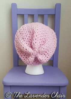 Valerie's Slouchy Beanie - Free Crochet Pattern - The Lavender Chair