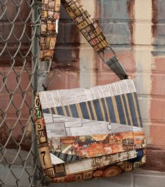 Take your projects on the road with this #handmade messenger bag! #Craft one yourself with new @Tim Harbour Harbour Holtz #fabric at Jo-Ann! #sewjoann #sew