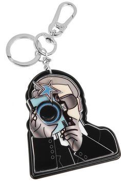 Shop now: Karl Lagerfeld Key Chain