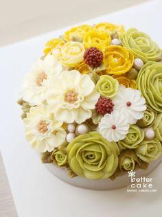 [베러케이크 정규클래스 후기] 블라썸 blossom 버터크림플라워케익 - 공덕마포케이크/베이킹클래스 꽃들이 ...