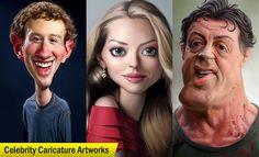 20 Beautiful Caricature Artworks for your inspiration. Read full article: http://myartmagazine.com/caricature-artworks | more http://myartmagazine.com/caricature-art | Follow us www.pinterest.com/myArtMagazine