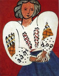 Romanian Blouse - Henri Matisse