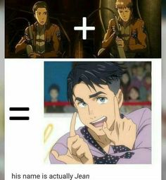 Attack on Titan x YOI How to make JJ