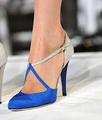 Resultado de imagen de zapatos azules